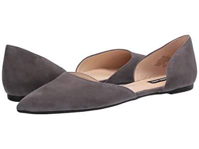 Nine West Starship Flat (Suited Slate) Women