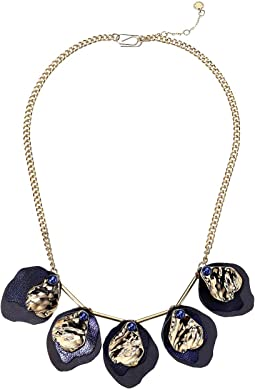 Petal Drop Collar Necklace 20""