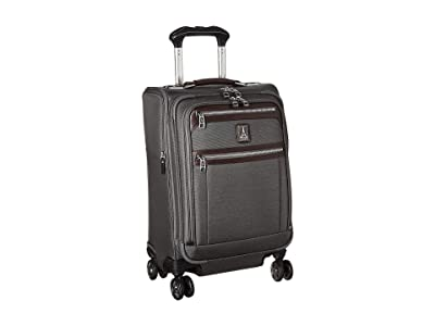 Travelpro Platinum(r) Elite 20 Expandable Business Plus Carry-On Spinner (Vintage Grey) Luggage
