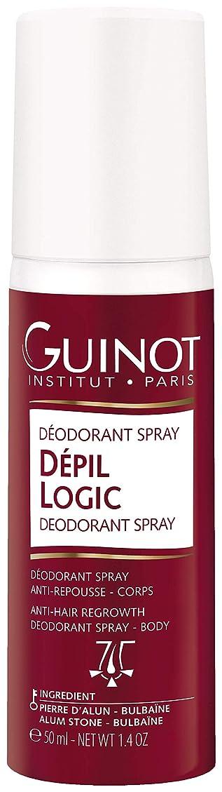 独創的に向けて出発踏みつけギノー Depil Logic Deodorant Spray 50ml/1.6oz並行輸入品
