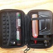 Kayond anti-shock plata aluminio Carry Viajes Protecci/ón bolsa de almacenamiento caso para disco duro de 2,5/pulgadas disco duro externo port/átil USB 2.0//3.0