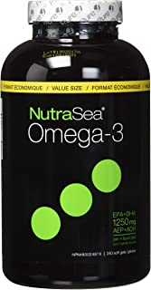 NUTRA SEA Nutrasea Softgels, 240 CT