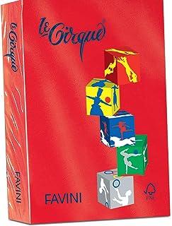 297x420 mm Favini Le Cirque carta inkjet A3 Rosso