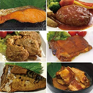 uchipacレトルトおかず 内野家の社長が選ぶ 今週のおかず6日分×2食 合計12食セット 保存料無添加・常温保存 【備蓄・非常食・贈り物にも最適】