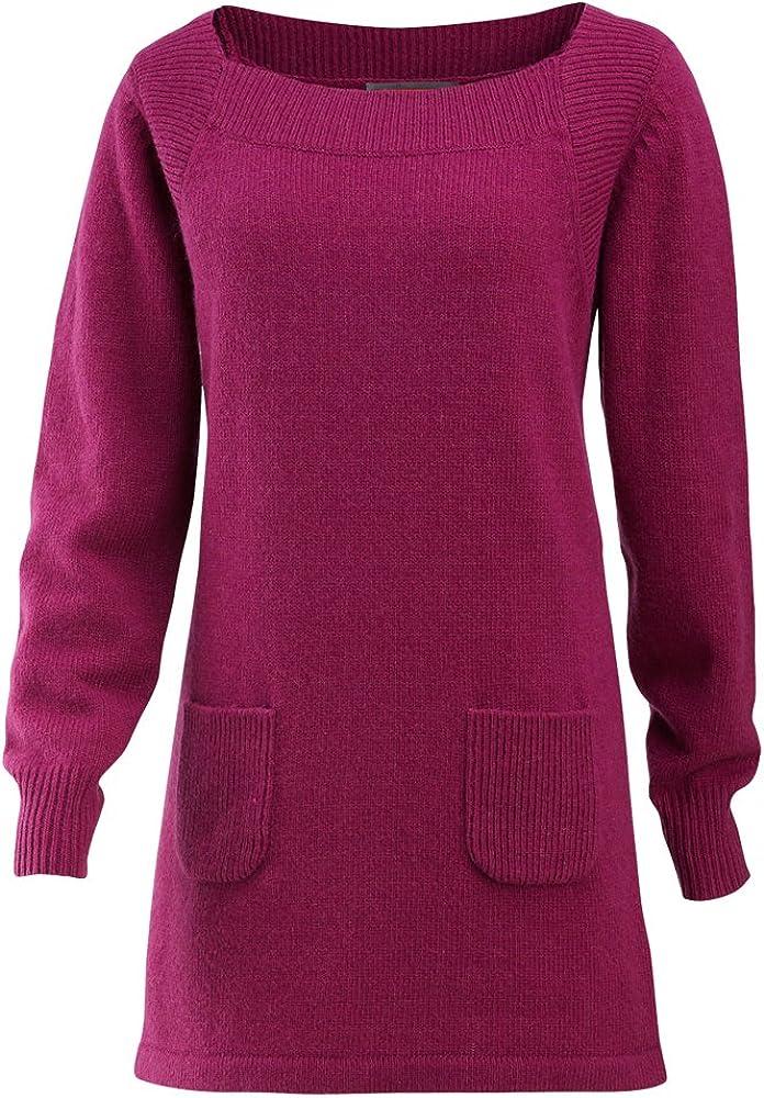 Merrell Women's Angelic Tunic Sweater, Rhubarb, Medium