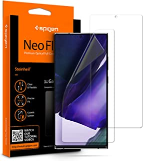 Spigen NeoFlex Screen Protector Designed for Samsung Galaxy Note 20 Ultra [2 Pack] - Case Friendly