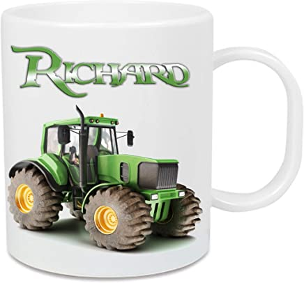 Tasse aus Kunststoff Traktor + Name - preisvergleich