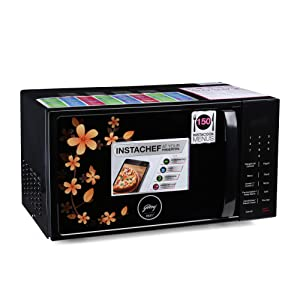 Godrej 20 L Grill Microwave Oven (GME 720 GF1 PZ, Coral Blossom)