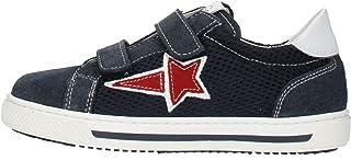Nero Giardini P929450M Sneakers Kids da Bambino in Pelle, Camoscio E Tela