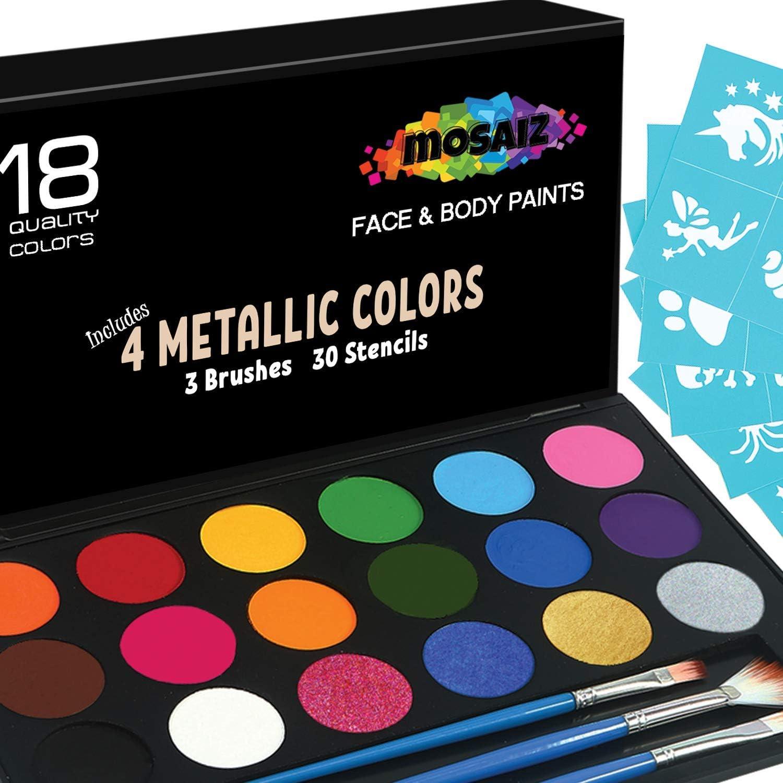 Mosaiz 5 ☆ popular Halloween Face Palette Facepain Makeup Fresno Mall