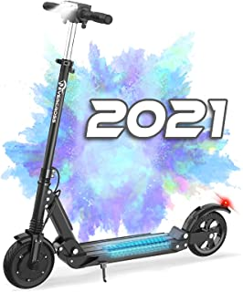 """EVERCROSS HB16 Folding Electric Scooter with 8"""" Solid Tires & 350W Motor, Up to 20MPH & 22 Miles, Suitable for Teens and A..."""