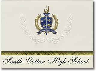 Signature Announcements Smith-Cotton High School (Sedalia, MO) Graduation Announcements, Presidential style, Elite package...