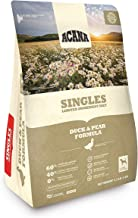 ACANA Singles Duck & Pear Limited Ingredient Dry Dog Food. 4.5 Pounds (Biologically Appropriate & Grain Free)