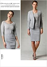 Vogue Patterns V1389AX5 Misses' Jacket, Skirt and Top Sewing Template, Size AX5 (4-6-8-10-12)