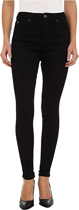 Lancaster Jeans Jegging in Black Rinse