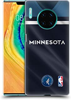 Official NBA Road Jersey 2018/19 Minnesota Timberwolves Hard Back Case Compatible for Huawei Mate 30 Pro / 5G