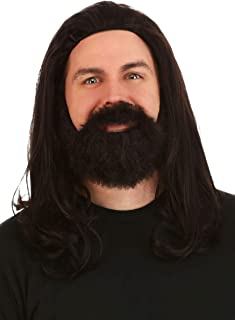 Fun Costumes Silent Bob Synthetic Wig and Beard Costume Kit Standard