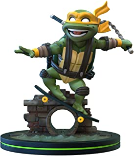 Quantum Mechanix QMx - Teenage Mutant Ninja Turtles TMNT - Michelangelo Q-Fig