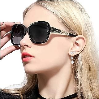FIMILU Polarized Sunglasses for Women,UV400 Protection Stylish Design Sun Eye Glasses for Driving Shopping Travelling