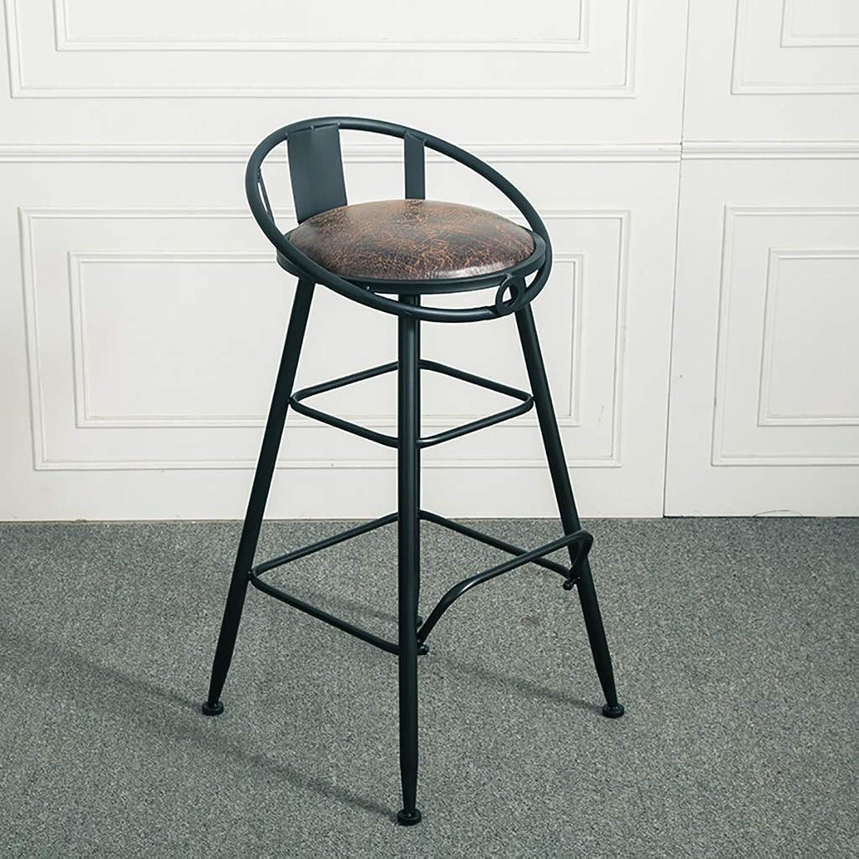 American Iron Art Bar Stools Retro Bar Chair High Stool Home Creative Chair