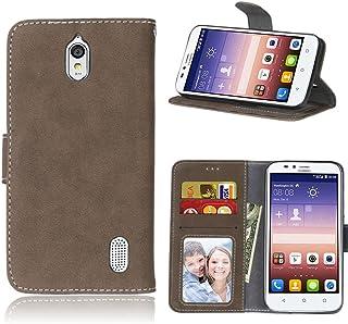 06971449447 pinlu Funda Para Huawei Y625 Alta Calidad Función de plegado Flip Wallet  Case Cover Carcasa Piel