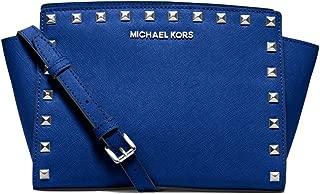 MICHAEL Michael Kors Women's Selma Stud Messenger Bag