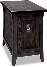 Leick Favorite Finds Mission Cabinet End Table, Slate Black