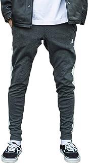 [abito/アビト] ジョガーパンツ メンズ ジョガパン スリム おしゃれ サイドライン 2本ライン スポーツ スウェット イージーパンツ トレーニング カジュアル