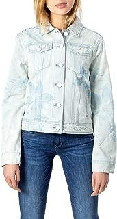 Desigual Luxury Fashion Womens 20SWED47LBLUE Light Blue Jacket   Fall Winter 19