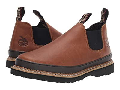 Georgia Boot Giant ReVamp Romeo Soft Toe (Brown) Men