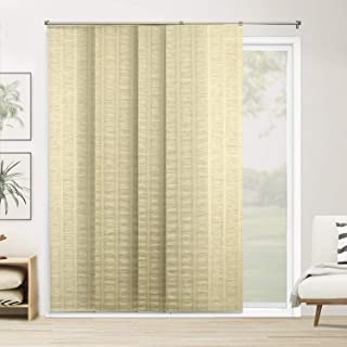 Chicology Adjustable Sliding Panels Cut to Length Vertical Blinds, Up to 80