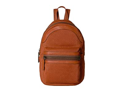 Frye Lena Perf Backpack (Spice) Backpack Bags
