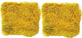 Evisha Jute Shredded Grass for Packing Gift Hampers Basket Filler Packaging Material Easter Basket Grass Shredded Natural ...
