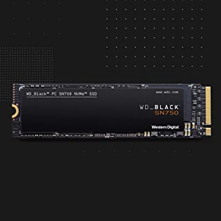 WD Black SN750 - SSD Interno NVMe para Gaming de Alto Rendimiento, 500GB