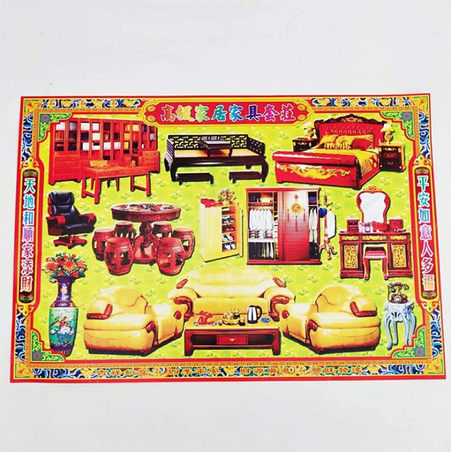 ZHANGQQ Ancestor Money Chinese Free shipping Selling and selling Burning Money- offerings