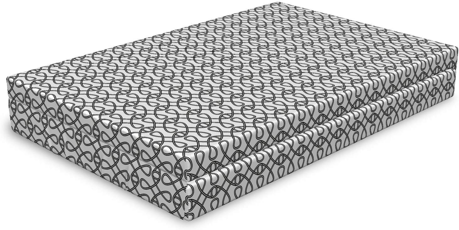 Lunarable Abstract Dog Bed Modern New product Intertwined Celtic Motifs Ranking TOP12 of