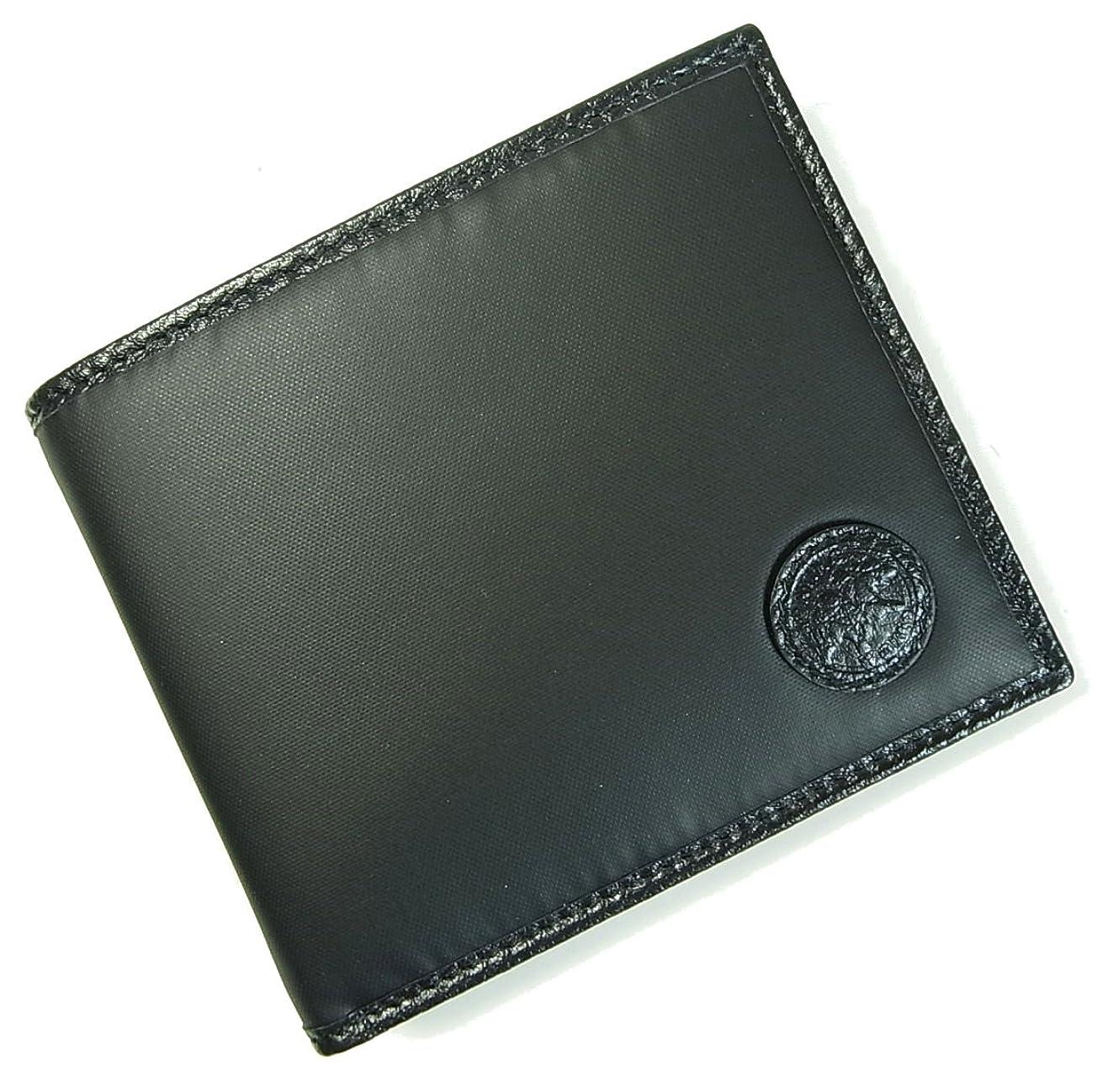 グラフィック割合レンダー[ハンティングワールド] 財布 メンズ BATTUE ORIGIN 二つ折 (ブラック) 310-13A HW-11F [並行輸入品]