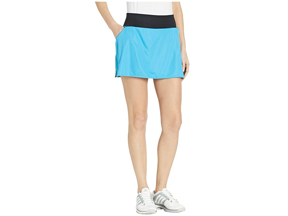 adidas Club Skirt (Shock Cyan) Women