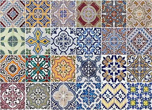Crearreda CR-67202 Azulejos Kitchen Panel