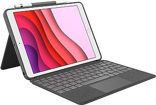 Logitech Combo Touch for iPad (7th & 9th Gen), QWERTZ German Layout