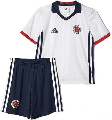 Amazon.com: adidas Kid's Colombia Home Mini Kit Set Copa America ...