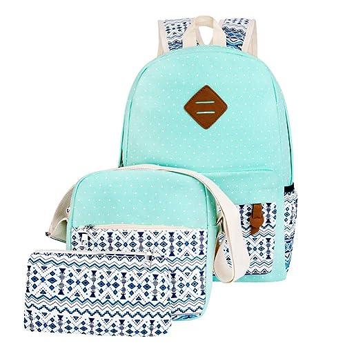 aa872c3a6fbab Girls School College Backpacks Daypack Laptop Casual Cute Bookbags School  Bags