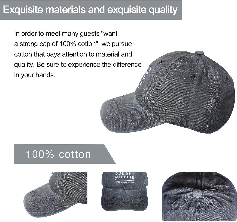 FUN DOGE Junk Food and a Diet Coke Denim Cap Baseball Dad Cap Adjustable Classic Sports for Men Women Hat, Black, One Size