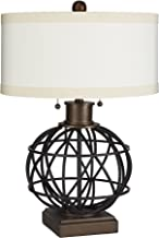 Silverwood CPLT1378-COM The Atlas Two-Pull Table Lamp with Shade, 23