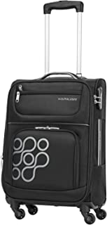 Kamiliant by American Tourister Koti Softside Spinner Luggage 66cm with 3 digit Number Lock - Black