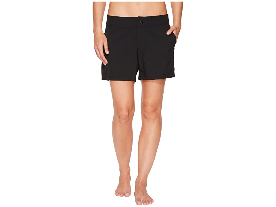 Next by Athena Good Karma Shoreline Boardshort (Black) Women
