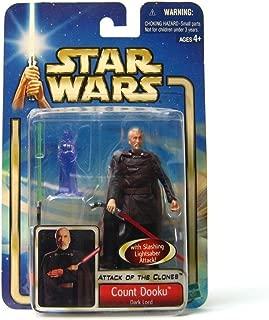 Count Dooku Dark Lord Star Wars Saga Collection #27 Action Figure