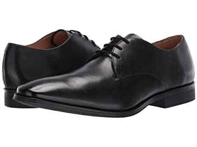 Clarks Gilman Walk (Black Leather) Men