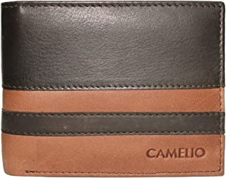 Camelio Brown Men's Wallet (CAM-BL-045)