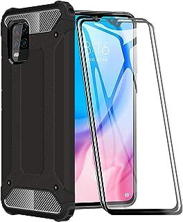 FANFO® Funda para Xiaomi Mi 10 Lite 5G, protección contra Golpes de TPU + PC Resistente a arañazos (Doble Capa) Carcasa pa...
